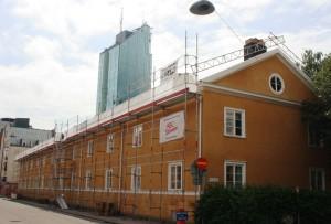 Ställning Karlsgatan, Västerås, bild 1, tagen 2014-06-06