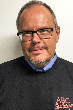 Jörgen Persson - Kontaktperson ABC Ställningar Gävle