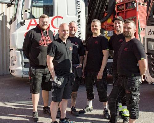 ABC Ställningar Stockholm logistik-team